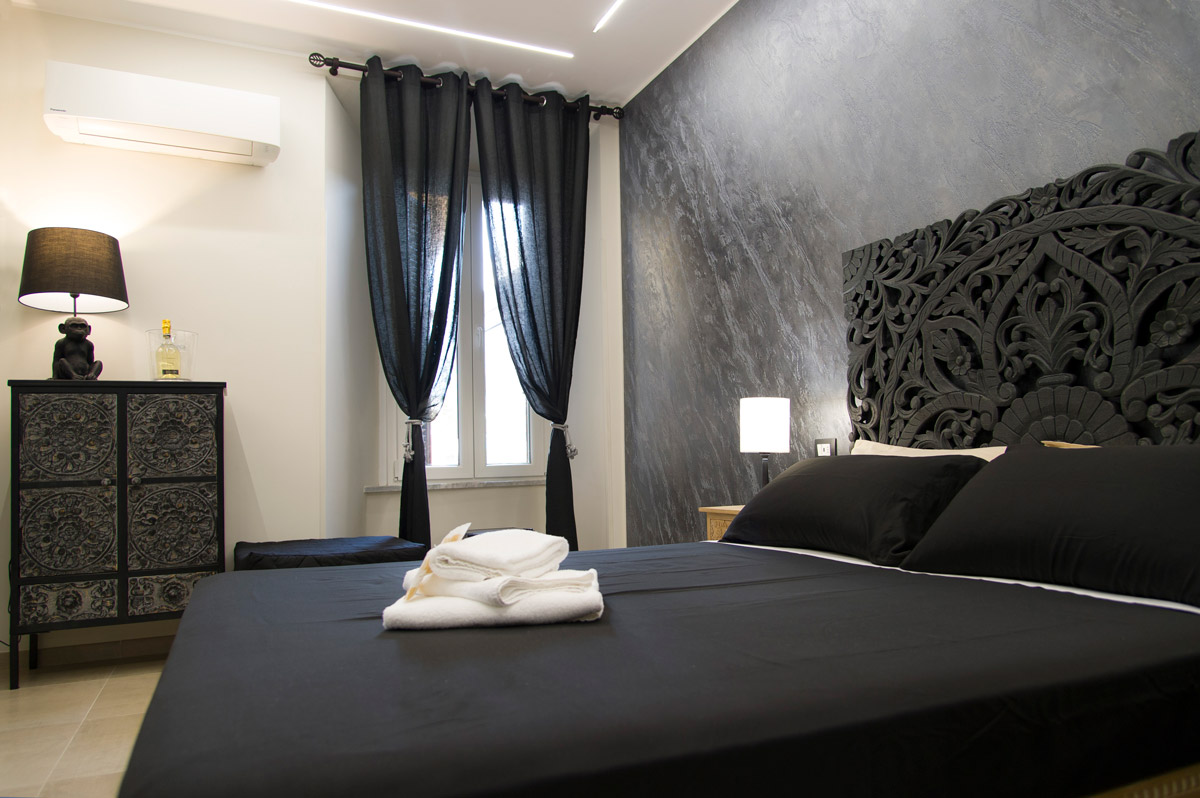 Camera AZTECA del Bed and Breakfast in Fiumicino Le Boutique Luxury Resort