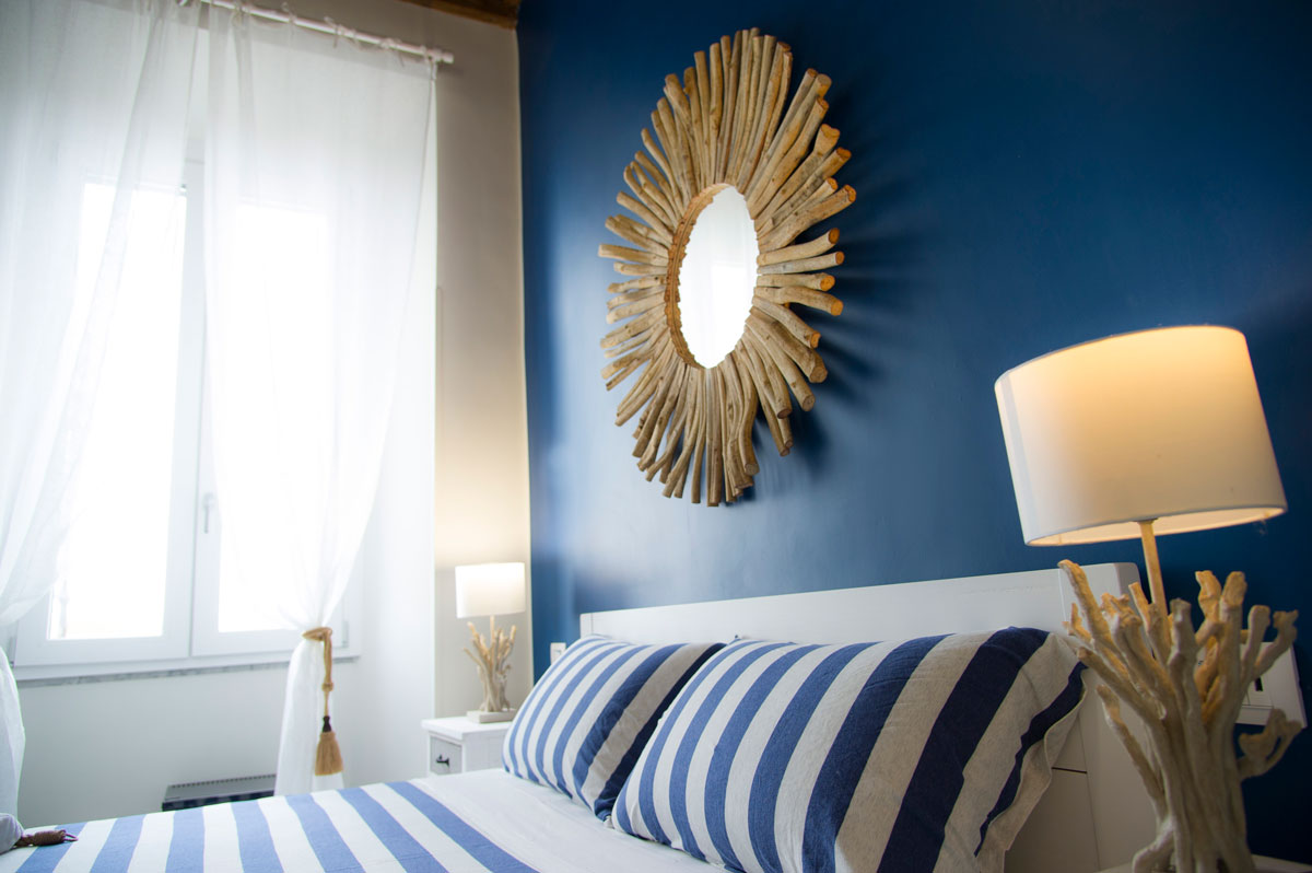 Camera BLUE HARBOR del Bed and Breakfast in Fiumicino Le Boutique Luxury Resort