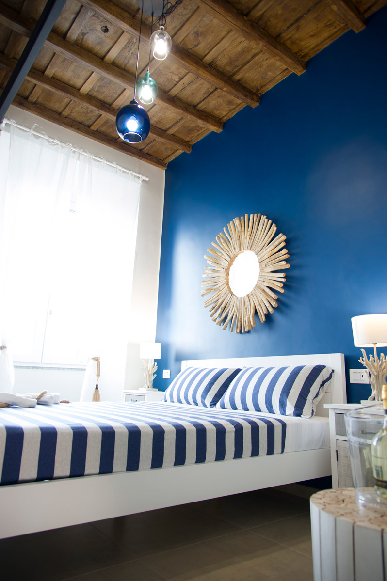 Camera BLUE RIVER del Bed and Breakfast in Fiumicino Le Boutique Luxury Resort