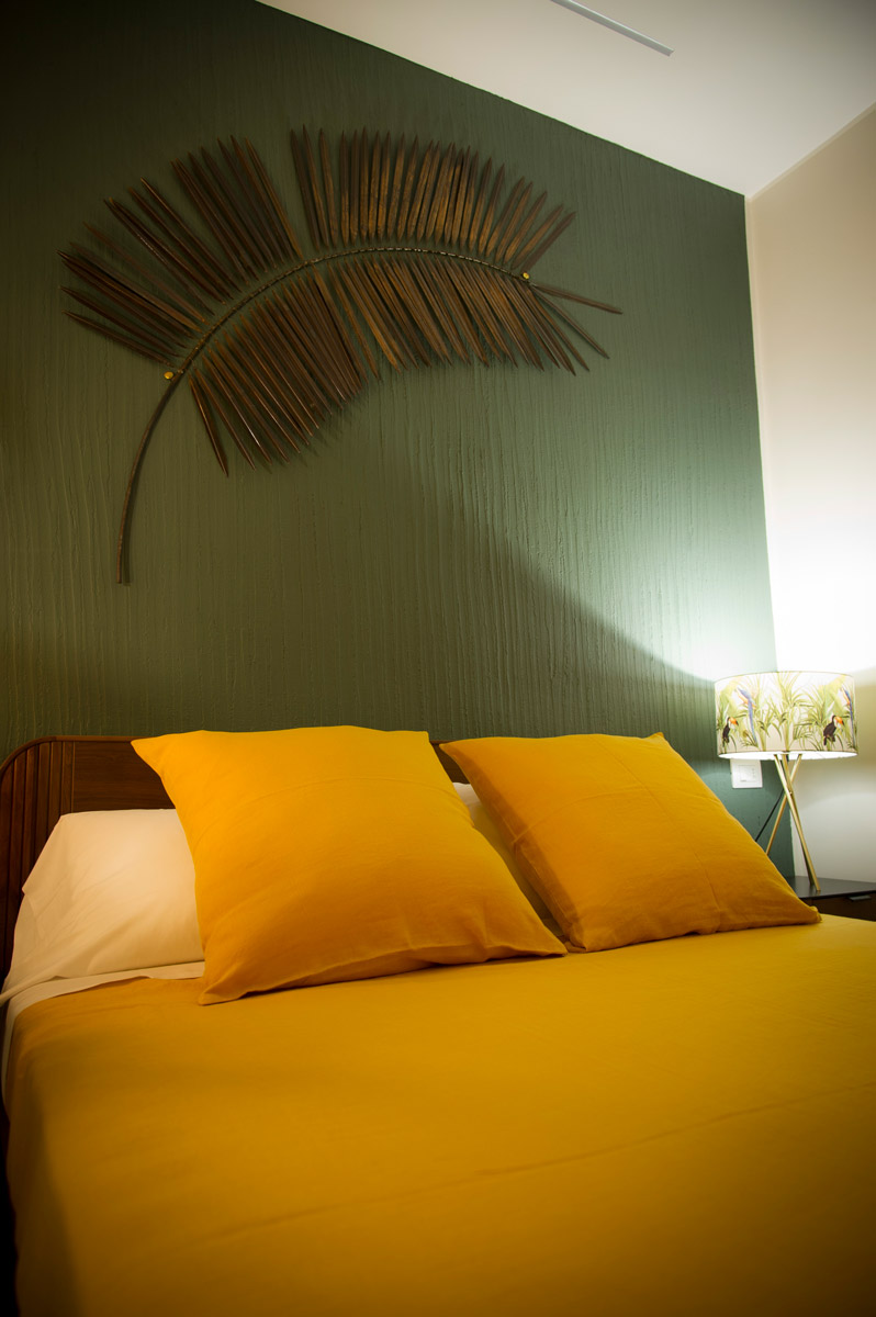 Camera JUNGLE del Bed and Breakfast in Fiumicino Le Boutique Luxury Resort