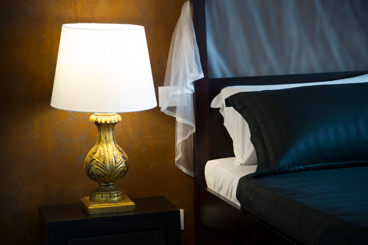 Suite GOLDEN del Bed and Breakfast in Fiumicino Le Boutique Luxury Resort